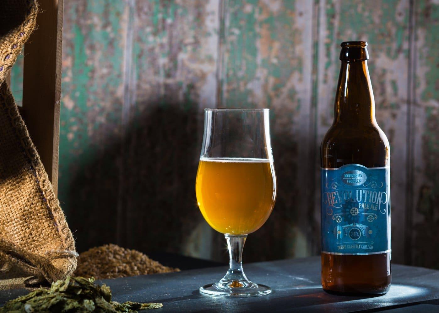 Moonshine & Fuggles Pale Ale